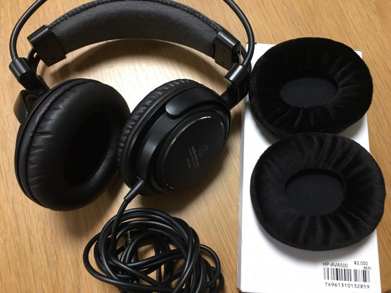ATH-T500とHP-AVA500