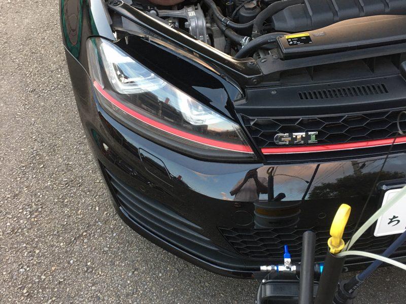 VW GOLF7 GTIオイル交換